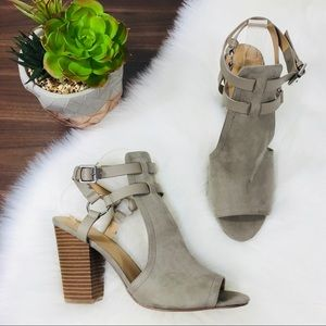 Joe's Ingrid Ankle Buckle Heeled Sandal